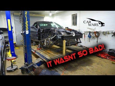 Rebuilding Wrecked 2011 Corvette Grand Sport Part 4