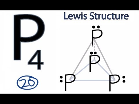 P4 Lewis Structure: How to Draw the Lewis Structure for P4