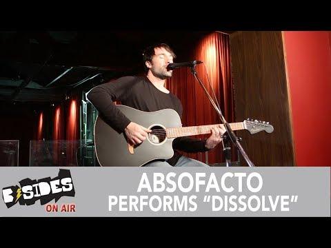 "Absofacto Performs ""Dissolve"" Acoustic"