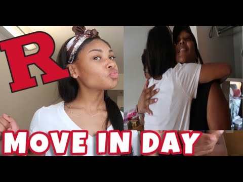 MOVE IN DAY VLOG! | Rutgers Newark 2019