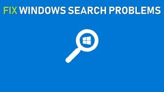 FIX Windows Search and Indexing Problems