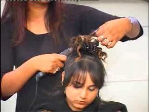 Funky Hair Style For Partys Marriage Function Youtube
