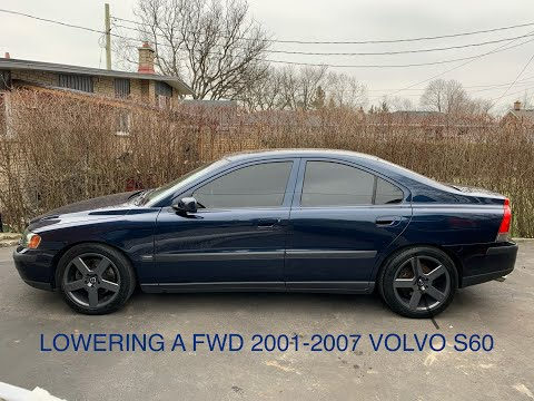 How to Install Lowering Springs on a Volvo S60 FWD (2001-2007)