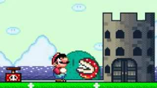 MARIO TRIES TO DESTROY THE CASTLE!!!!!!!!!!!!