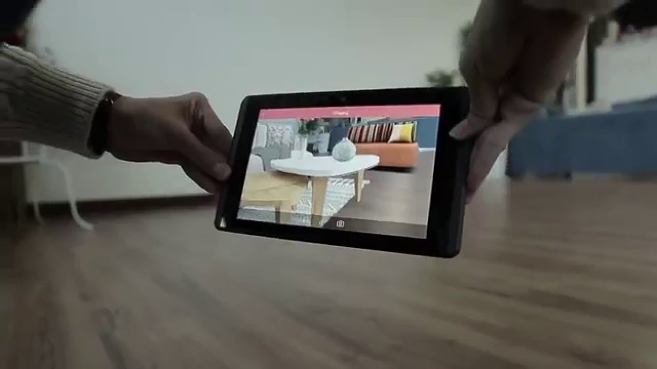 Istaging Interior Design Augmented Reality App Preview Youtube
