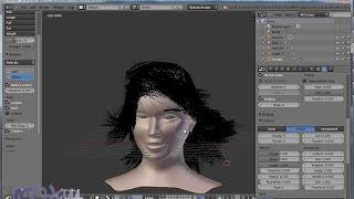 Blender. Урок 17-18: Моделирование волос