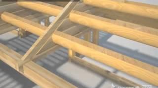 Как сделать фронтон для деревянного дома?