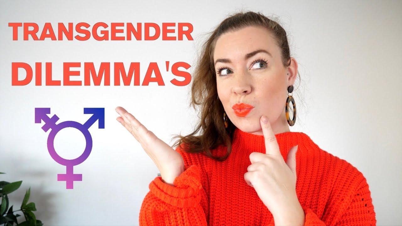 A transvestites delimma
