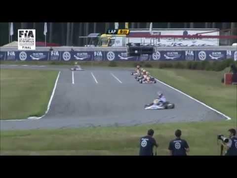 CIK-FIA European Championship Genk Finals Videos