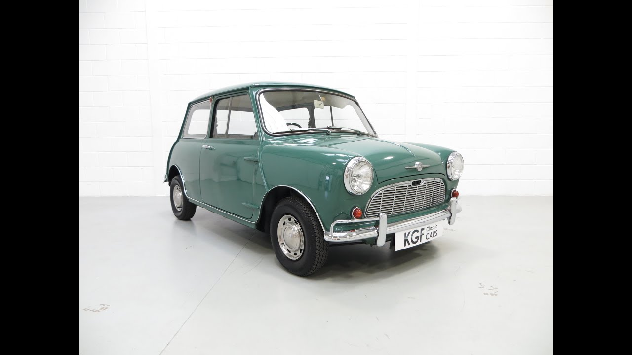 A Delightful Morris Mini Minor Super Deluxe 850 With An Incredible