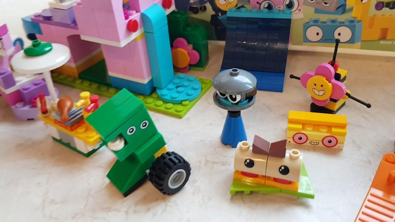 Lego Unikitty Nowe Super Klocki Prezentuję Cały Zestaw Youtube