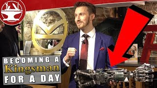 Becoming a Kingsman for a day!