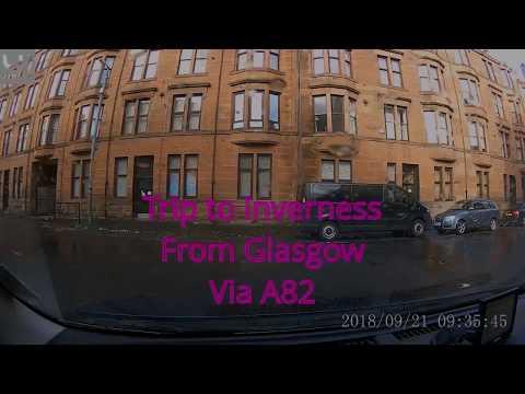 Glasgow to Inverness Via A82
