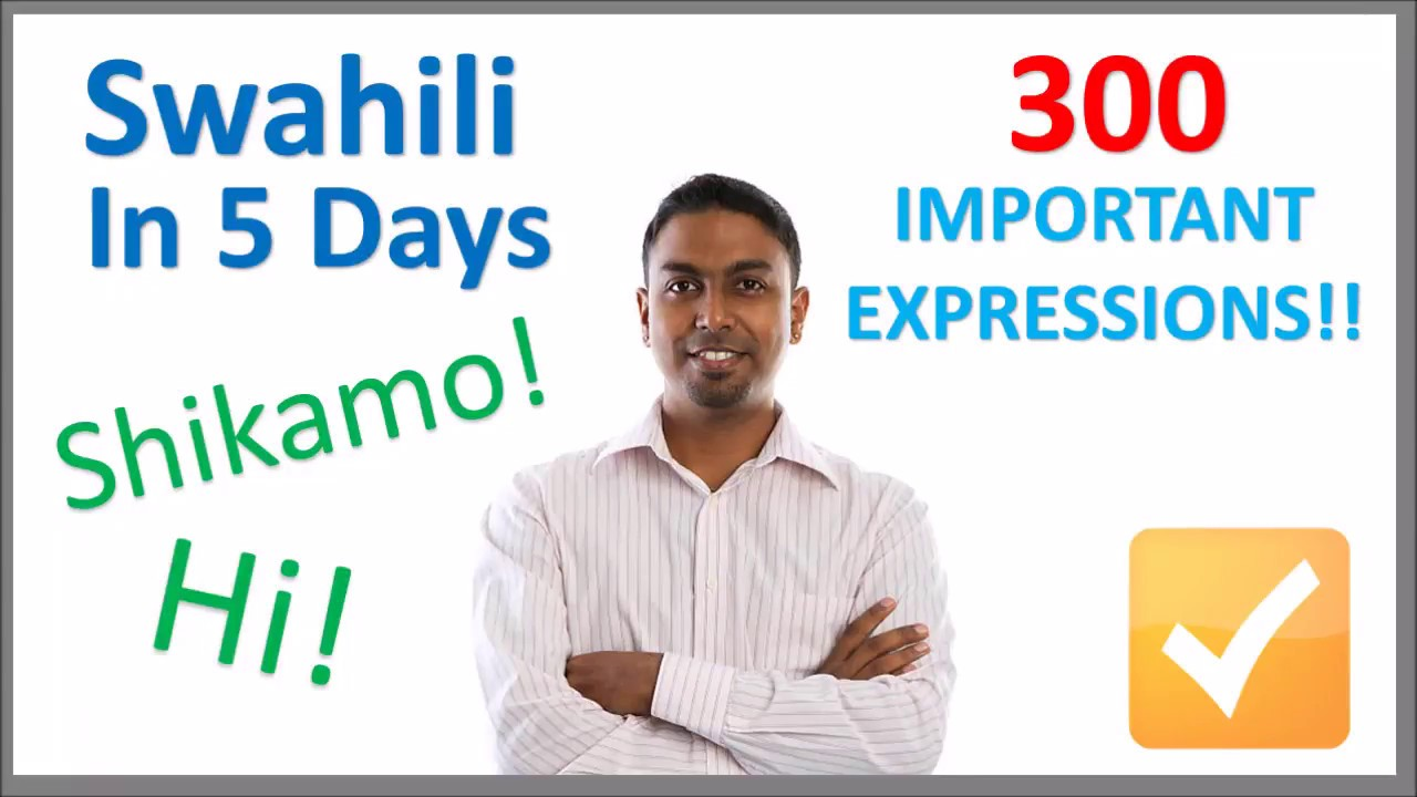 Download Learn Swahili in 5 Days - Conversation for Beginners
