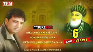 Ishq Cheej Hai Mast Mast by Balwinder Matewarhia | Audio Jukebox | TPM | Punjabi Sufiana