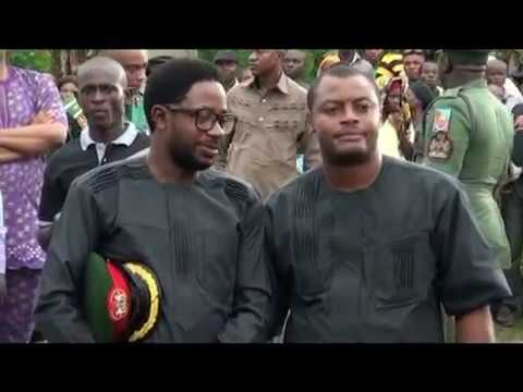 Burial of the Former Military Governor of Edo & Delta State