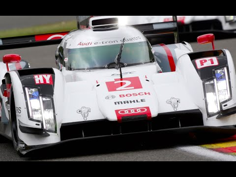 Audi R18: Anatomy Of A Le Mans Winner 2014 In Detail Great Engine Sound Video CARJAM TV 2015
