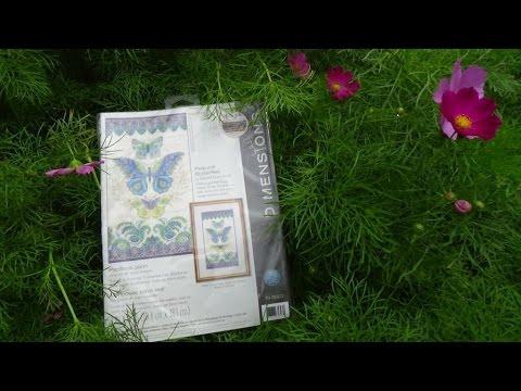 Dimensions Peacock butterflies Павлиновые бабочки (70-35323)