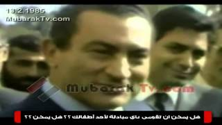 مذيعة أجنبية تفقد أعصابها بسبب رد فعل الرئيس مبارك