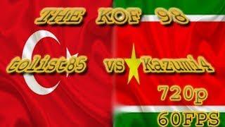 FightCade - The KoF 98: tolist85 (Turkey) vs Kazumi4 (Guadeloupe) [60FPS]