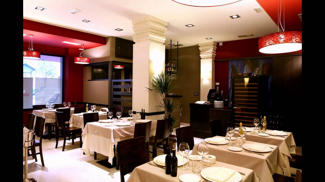 Inspiration and beautiful spanish restaurant design with