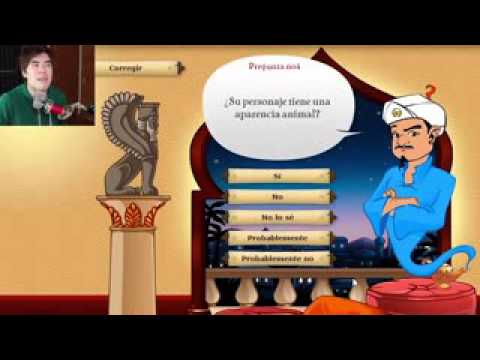 AKINATOR VS MINECRAFT - JuegaGerman HolaSoyGerman Juega German