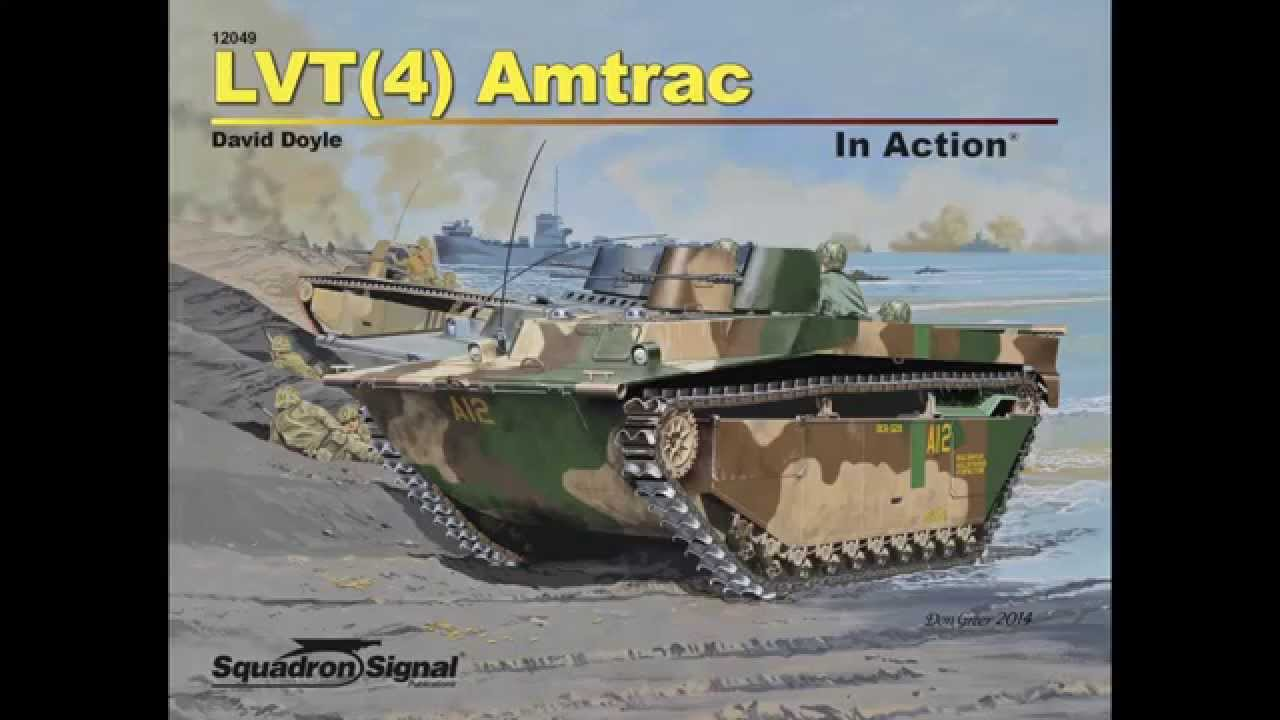 Lvt4 Amtrac In Action