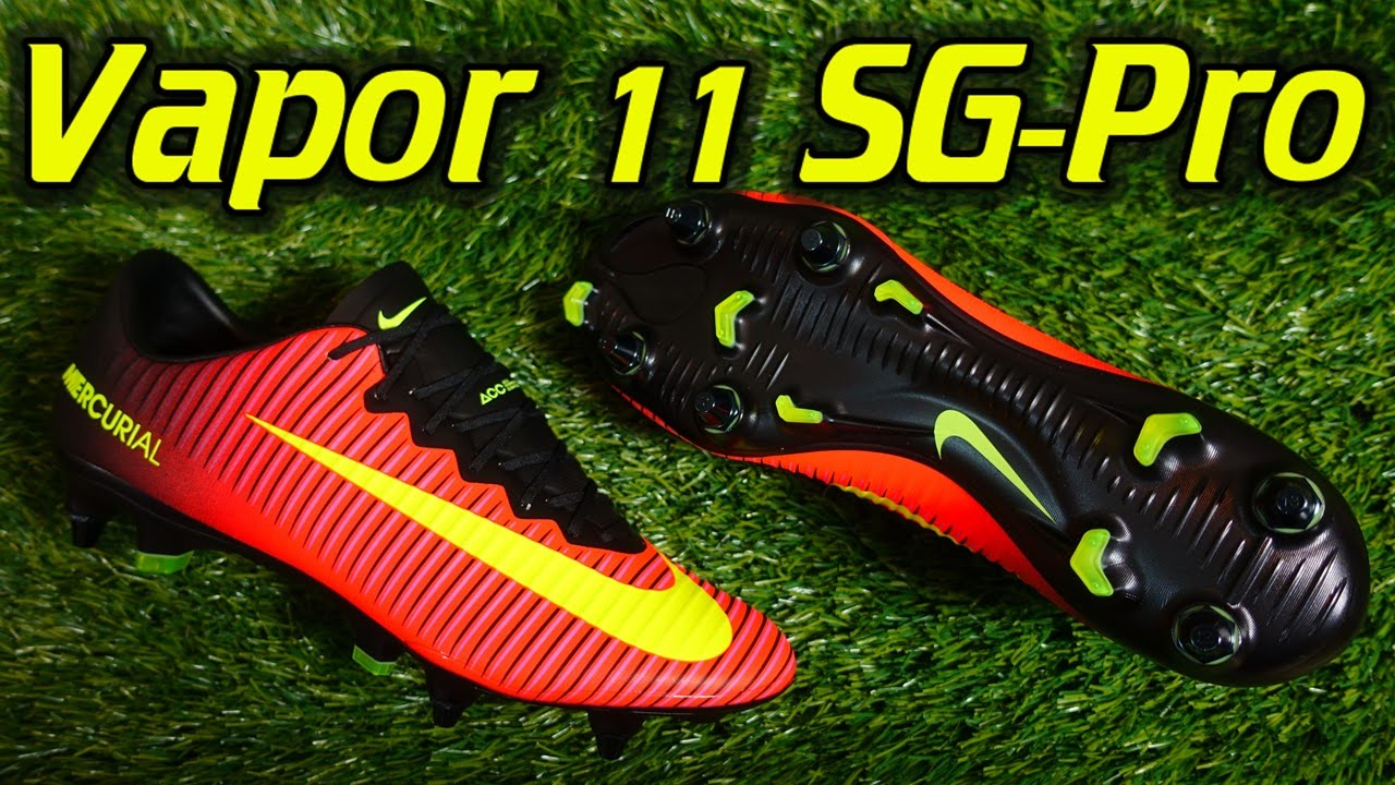 competitive price a1fa4 8b1a9 Nike Mercurial Vapor 11 SG-Pro (Spark Brilliance Pack) - Review + On Feet
