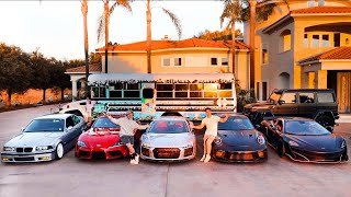 FULL TOUR OF OUR CAR COLLECTION!!