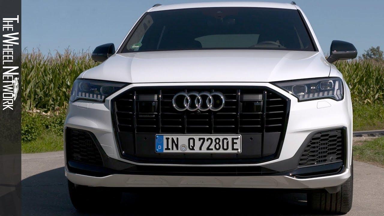 2020 Audi Q7 60 Tfsi E Plug In Hybrid Driving Interior Exterior Youtube