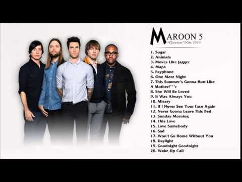 best songs of maroon 5 2015 2016 hq youtube. Black Bedroom Furniture Sets. Home Design Ideas