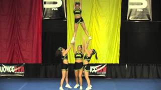 University of Regina Cheerleading - PCA UONCC 2010 - Collegiate Group Stunt - National Champs