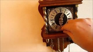 Warmink Dutch 8 Day Oak Bim Bam Zaanse Wall Clock For Sale On Ebay Uk