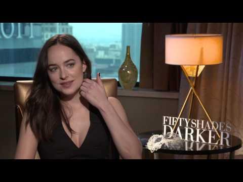 Dakota Johnson interview for FIFTY SHADES DARKER