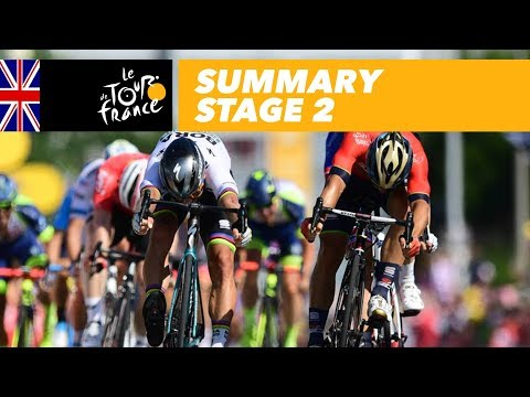 Summary - Stage 2 - Tour de France 2018