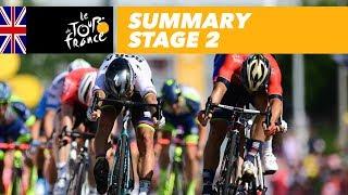 Summary - Stage 2 - Tour de France 2018