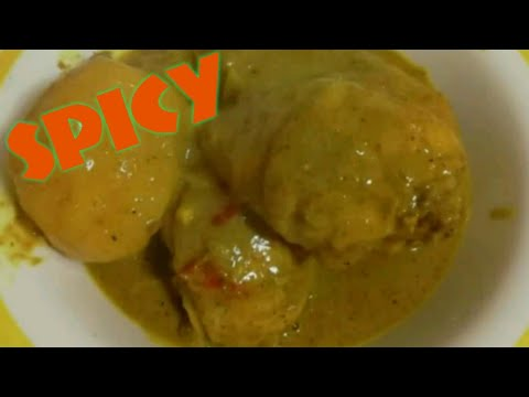 Chicken Curry Recipe with Coconut Milk / Italian Cooking Chicken Curry/Spicy Chicken Curry