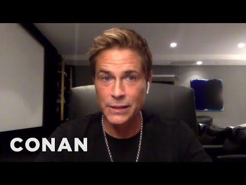 "Rob Lowe Got ""Backstreet Boys Highlights"" - CONAN on TBS"