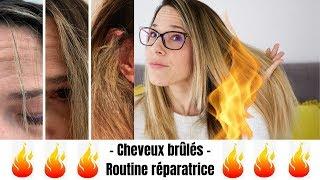 Cheveux brûlés par un lissage brésilien : ma routine pour les réparer