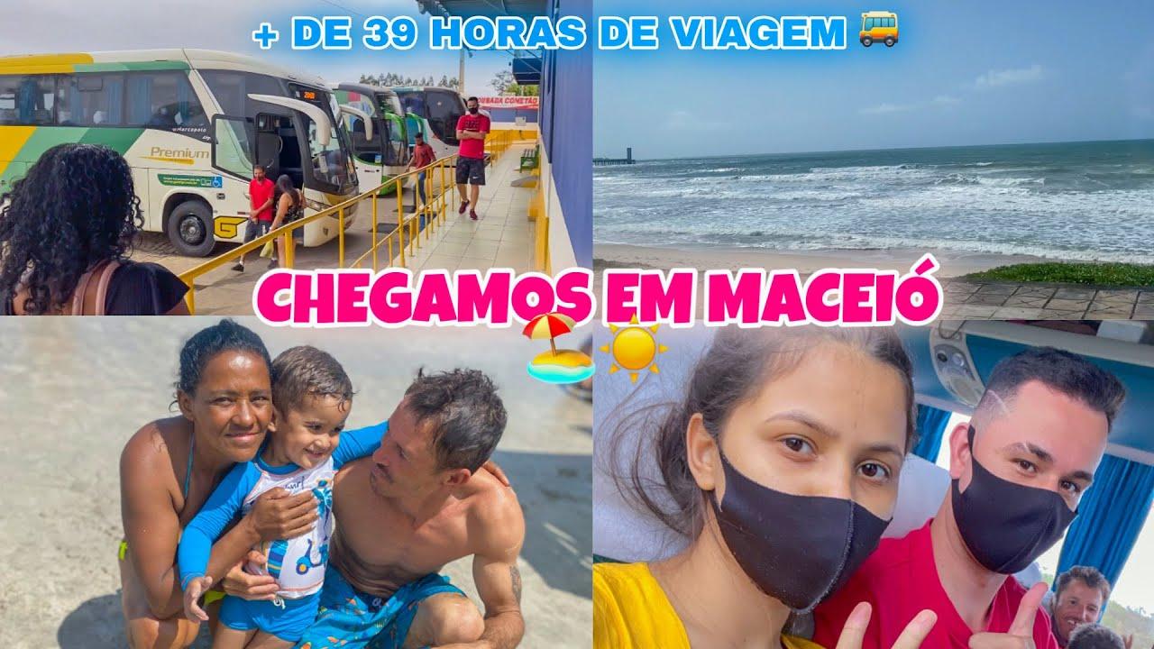 Download CHEGOU O DIA TÃO ESPERADO   NOSSA VIAGEM PARA ALAGOAS 🏖🥰  + de 39 HORAS NO ÔNIBUS 😱🚌
