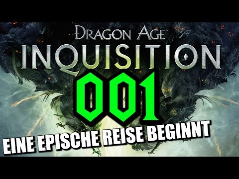 Let's Play Dragon Age Inquisition Gameplay German Deutsch Part 1 (Dragon Age 3 Gameplay German)