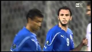 ITALIA - ISOLE FAROER 5-0 - HIGHLIGHTS AMPIA SINTESI QUALIFICAZIONI EUROPEI 07/09/2010