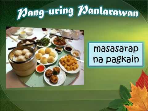 Pang uri  Instructional video