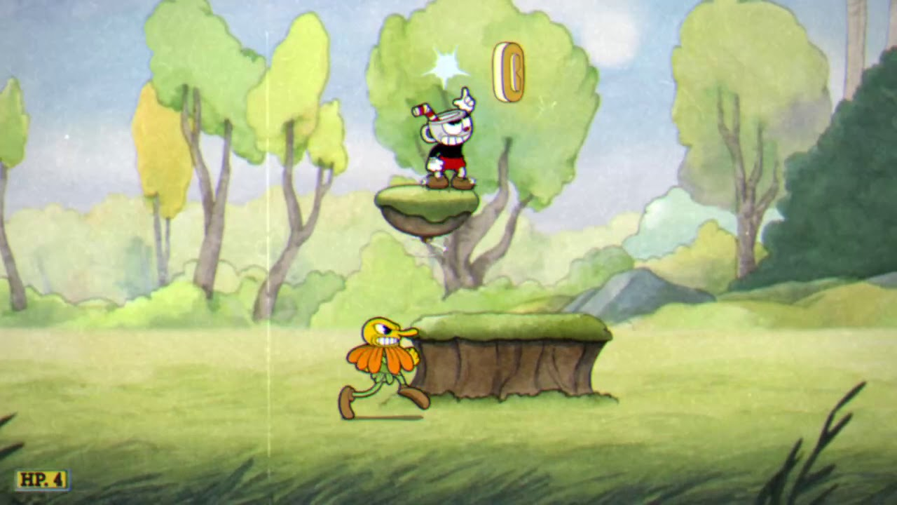 2 bossové a jeden RAG level     Cuphead #2
