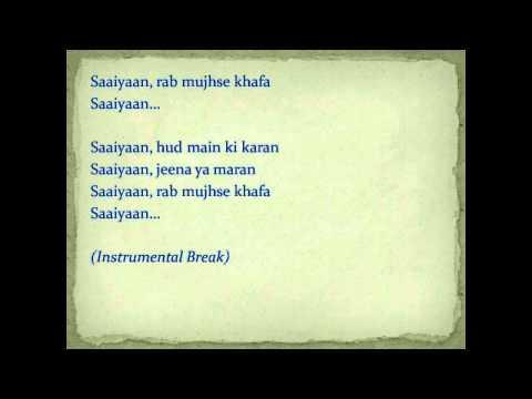 Gunday song saayian with lyrics!!!