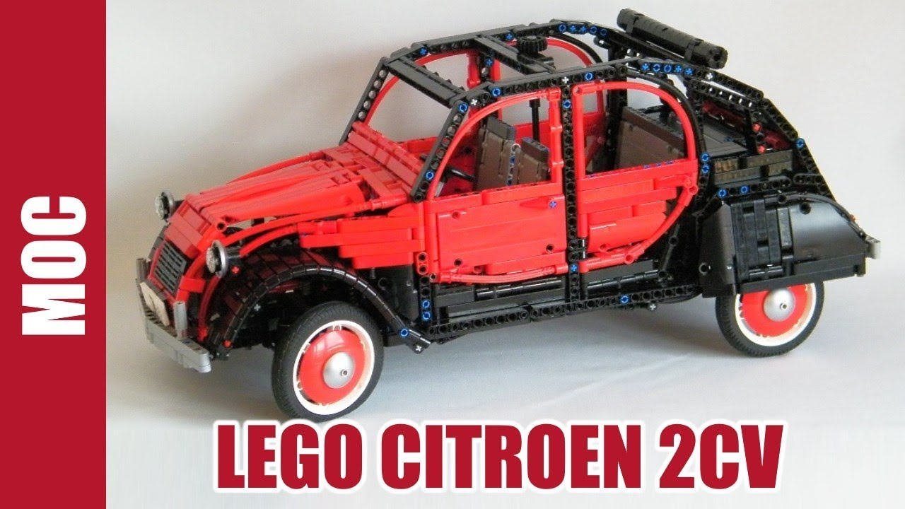 Lego Technic - Citroën 2CV Charleston