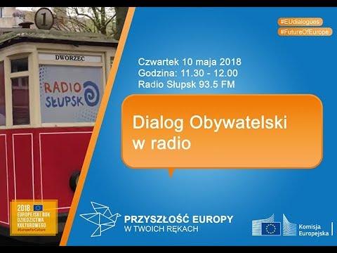 Dialog Obywatelski z Jakubem Boratynskim - Radio Słupsk
