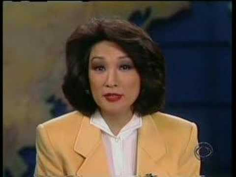 CBS Evening News - Dan Rather - Connie Chung