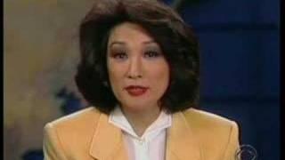 CBS Evening News - Dan Rather - Connie Chung