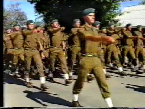 Infantry School passing out parade December 1988